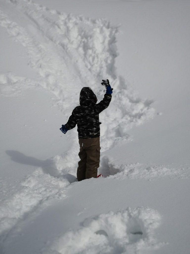 やまぼく合宿と知的障害の子とボドゲを遊んでみる 168と雪山楽しかったヨ