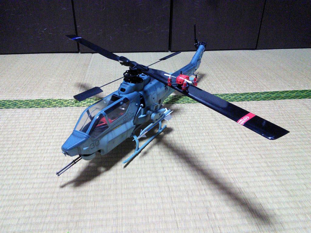 ヘリ列伝 その23と24(AH-1W:登録抹消済 ナノスパイダー)