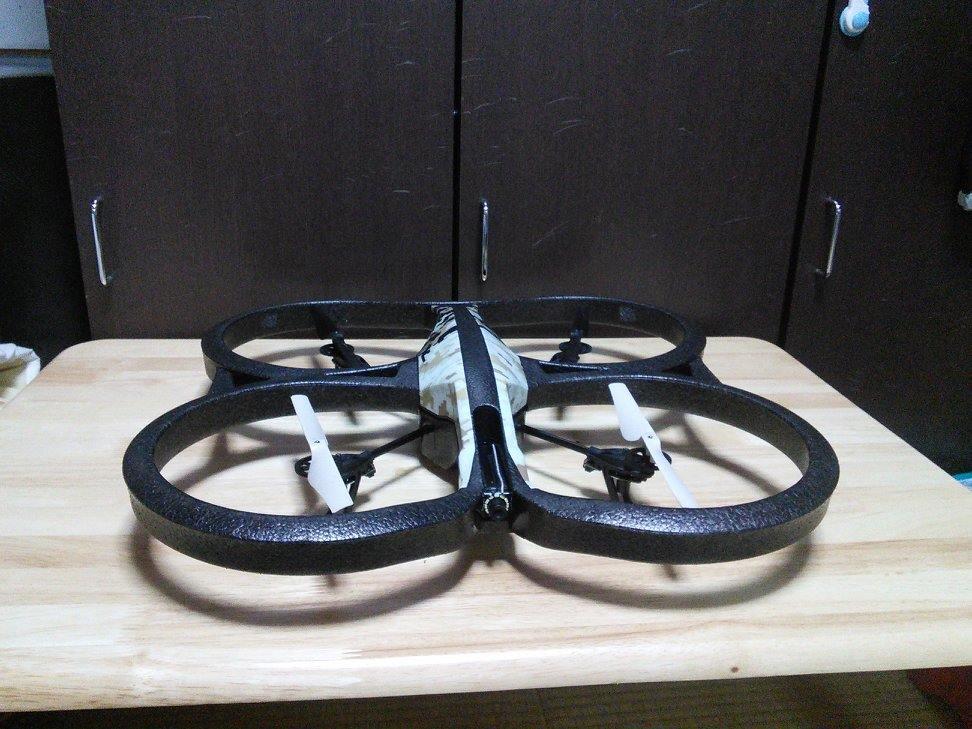 ヘリ列伝 その34(AR.Drone2.0 GPS Edition:登録抹消済)