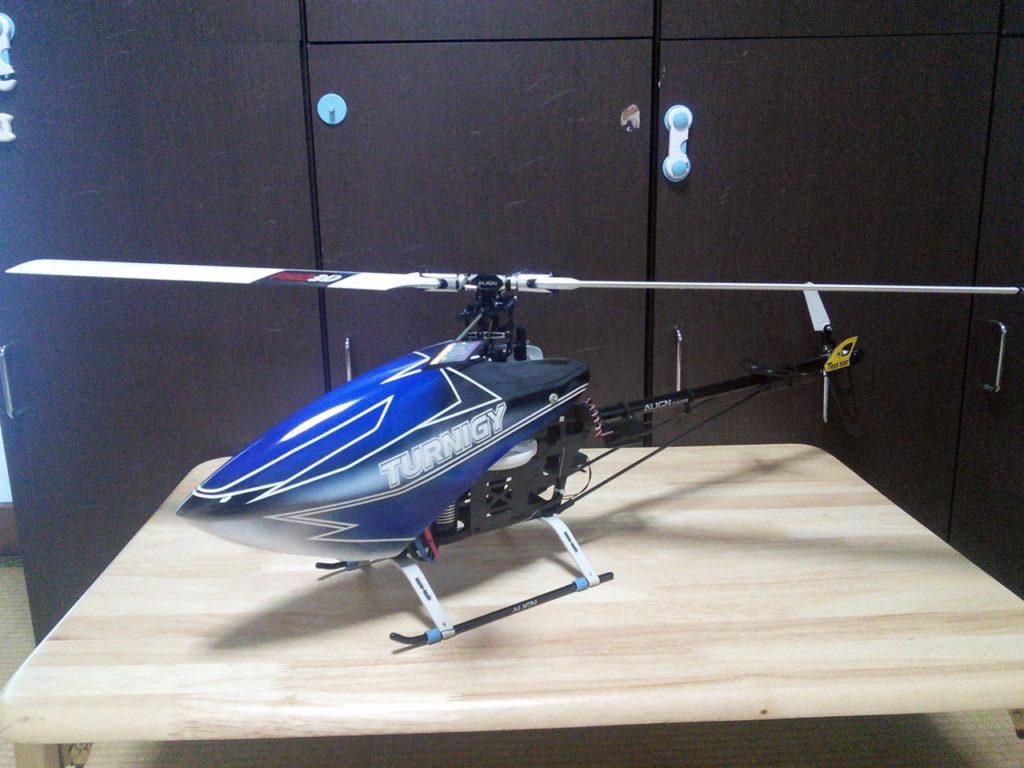 ヘリ列伝 その36(T-REX500 ESP:登録抹消済)
