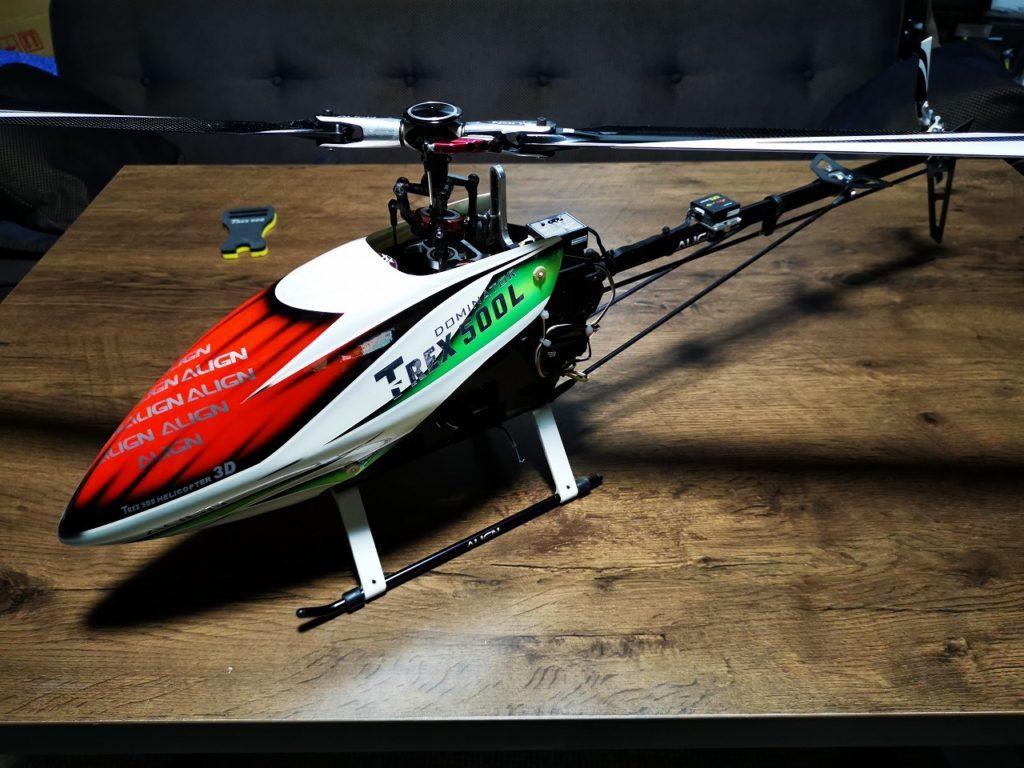 ヘリ列伝 その40(T-REX 500L Dominator)